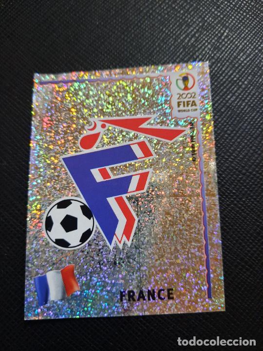 ESCUDO FRANCIA PANINI 2002 CROMO FUTBOL MUNDIAL KOREA 02 SIN PEGAR RF0 N 26 (Coleccionismo Deportivo - Álbumes y Cromos de Deportes - Cromos de Fútbol)
