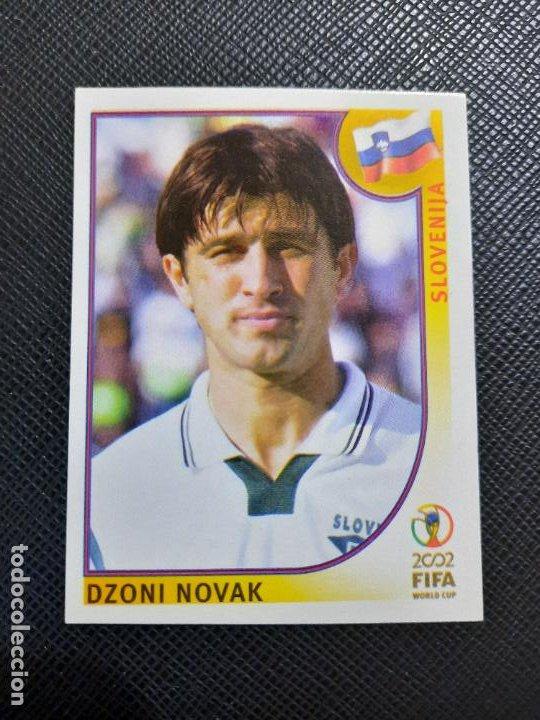 NOVAK ESLOVENIA PANINI 2002 CROMO FUTBOL MUNDIAL KOREA 02 SIN PEGAR RF0 N 123 (Coleccionismo Deportivo - Álbumes y Cromos de Deportes - Cromos de Fútbol)