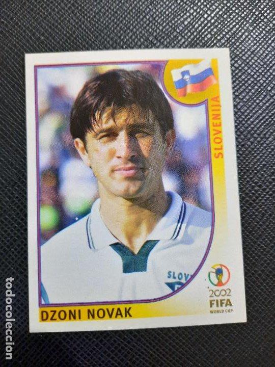 NOVAK ESLOVENIA PANINI 2002 CROMO FUTBOL MUNDIAL KOREA 02 SIN PEGAR RF0 N 123 B (Coleccionismo Deportivo - Álbumes y Cromos de Deportes - Cromos de Fútbol)