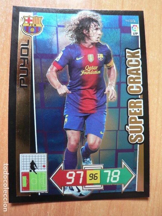 PUYOL BARCELONA SUPER CRACK SUPERCRACK ADRENALYN XL LIGA 2012 2013 12 13 PANINI (Coleccionismo Deportivo - Álbumes y Cromos de Deportes - Cromos de Fútbol)