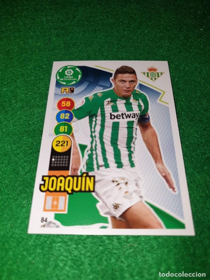 ADRENALYN XL 2020 2021 20 21 CARD PANINI FUTBOL N 84 JOAQUIN REAL BETIS NUEVO (Coleccionismo Deportivo - Álbumes y Cromos de Deportes - Cromos de Fútbol)