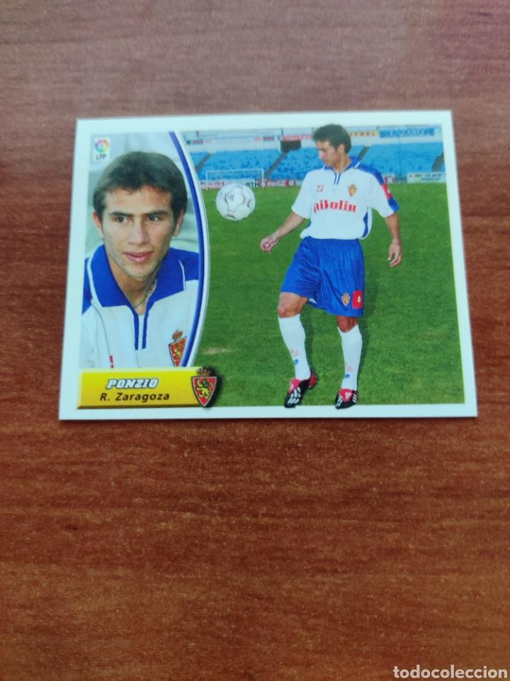CROMO ULTIMOS FICHAJES NÚMERO 25 PONZIO R. ZARAGOZA LIGA ESTE 2003-2004 03-04 (Coleccionismo Deportivo - Álbumes y Cromos de Deportes - Cromos de Fútbol)