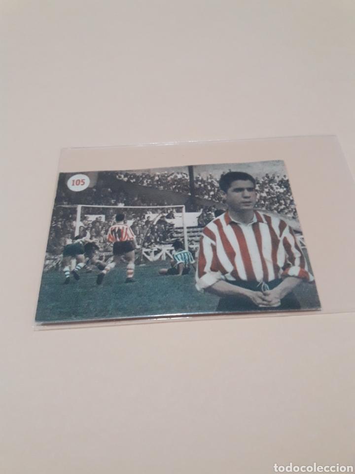 1953. GAINZA N° 105. FHER RECUPERADO. (Coleccionismo Deportivo - Álbumes y Cromos de Deportes - Cromos de Fútbol)
