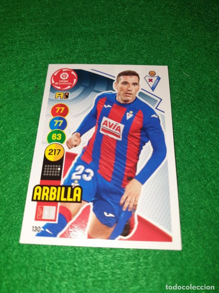 ADRENALYN XL 2020 2021 20 21 CARD PANINI FUTBOL N 130 ARBILLA EIBAR CF NUEVO (Coleccionismo Deportivo - Álbumes y Cromos de Deportes - Cromos de Fútbol)