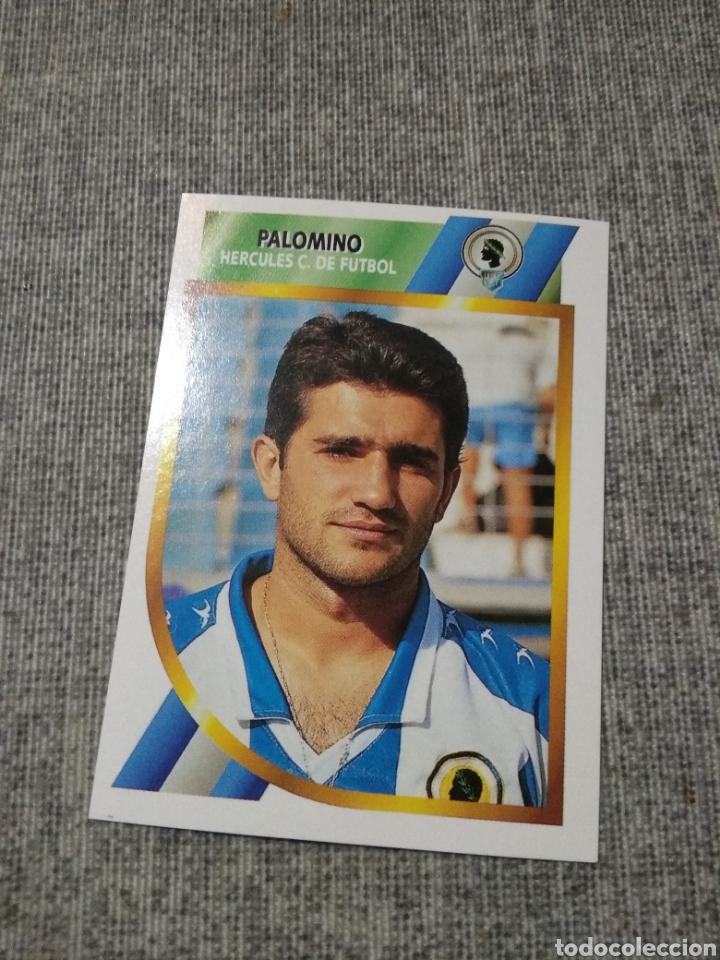 ED. ESTE 1994 95 ( 2ª DIVISIÓN ) PALOMINO - HERCULES ( NUEVO SIN PEGAR ) (Coleccionismo Deportivo - Álbumes y Cromos de Deportes - Cromos de Fútbol)