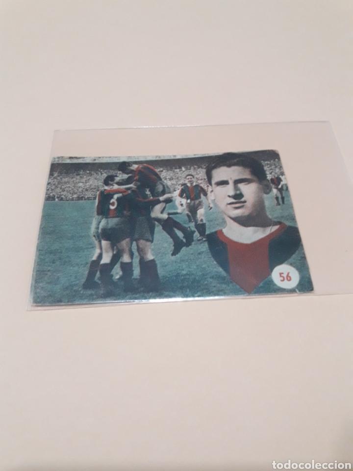 1953. MORENO N° 56. FHER RECUPERADO. (Coleccionismo Deportivo - Álbumes y Cromos de Deportes - Cromos de Fútbol)