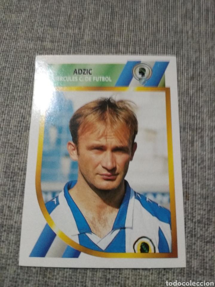 ED. ESTE 1994 95 ( 2ª DIVISIÓN ) ADZIC - HERCULES ( NUEVO SIN PEGAR ) (Coleccionismo Deportivo - Álbumes y Cromos de Deportes - Cromos de Fútbol)