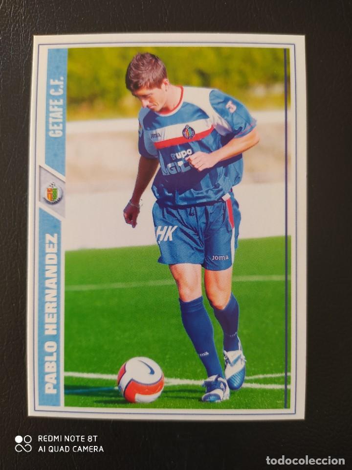 N° 234 PABLO HERNÁNDEZ - GETAFE CF - MUNDICROMO - FICHAS DE LA LIGA 2008 08 (Coleccionismo Deportivo - Álbumes y Cromos de Deportes - Cromos de Fútbol)