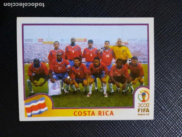 ALINEACION COSTA RICA PANINI 2002 CROMO FUTBOL MUNDIAL KOREA 02 SIN PEGAR RF0 N 223 B (Coleccionismo Deportivo - Álbumes y Cromos de Deportes - Cromos de Fútbol)