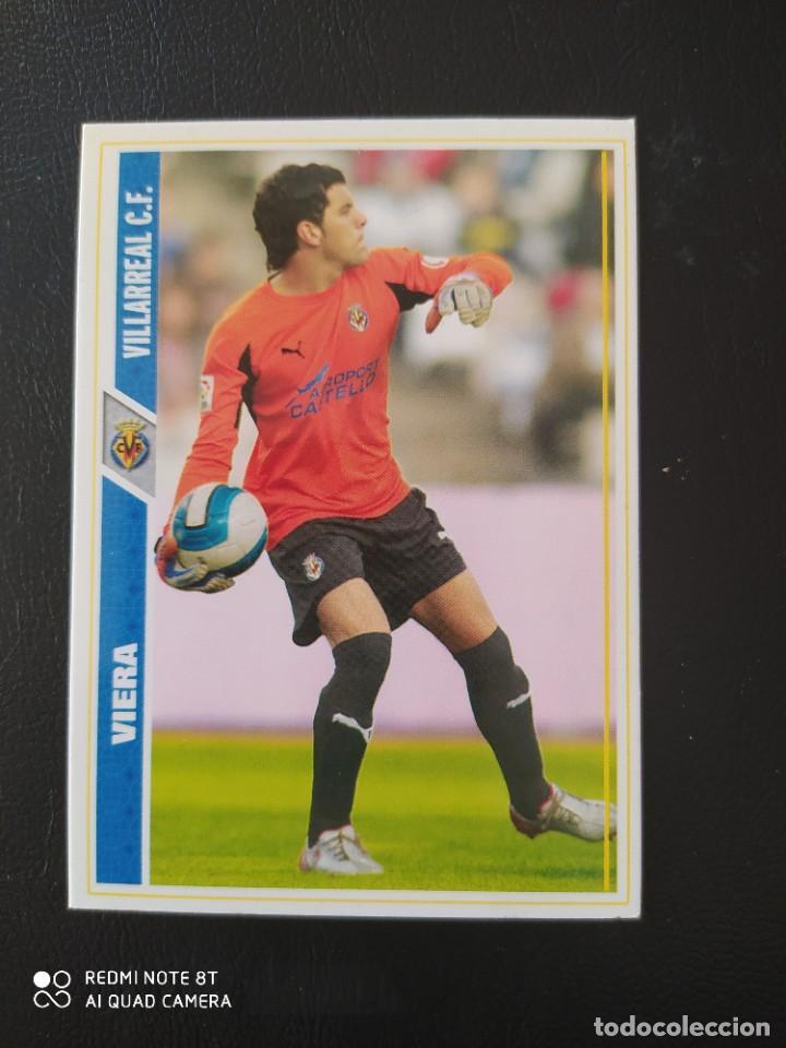 N° 113 VIERA VILLARREAL CF MUNDICROMO - FICHAS DE LA LIGA 2008 08 (Coleccionismo Deportivo - Álbumes y Cromos de Deportes - Cromos de Fútbol)