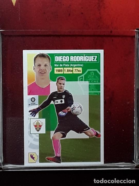 LE LIGA ESTE 2020 2021 SANTANDER 20 21 CROMO PANINI FUTBOL N 3BIS 3 BIS ELCHE DIEGO RODRIGUEZ (Coleccionismo Deportivo - Álbumes y Cromos de Deportes - Cromos de Fútbol)