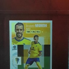 Cromos de Fútbol: LE LIGA ESTE 2020 2021 SANTANDER 20 21 CROMO PANINI FUTBOL N 3 CADIZ ULTIMOS FICHAJES NEGREDO. Lote 278300248