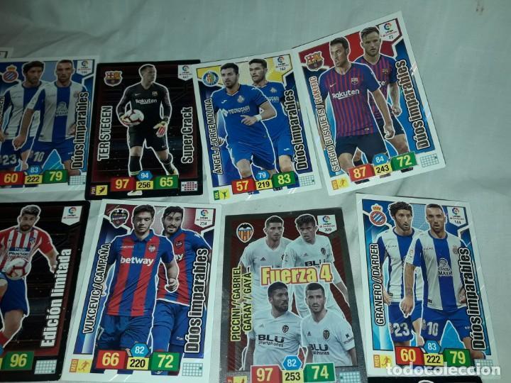 Cromos de Fútbol: Lote 15 cromos Adrenalyn XL cromos futbol liga 2018 2019 Panini - Foto 3 - 235000840
