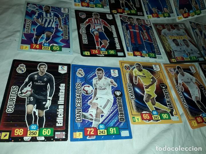 Cromos de Fútbol: Lote 15 cromos Adrenalyn XL cromos futbol liga 2018 2019 Panini - Foto 5 - 235000840