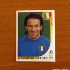 Cromos de Futebol: ITALIA - 471 DEL PIERO - MUNDIAL KOREA JAPÓN 2002 - EDITORIAL PANINI - NUNCA PEGADO. Lote 251775960
