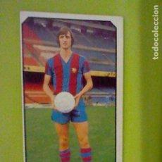 Cromos de Fútbol: CRUYFF BARCELONA ED ESTE 77 78 1977 SIN PEGAR NUNCA ORIGINAL. Lote 235142540
