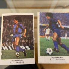Cromos de Fútbol: MARADONA FUTBOL 84 DOBLE IMAGEN. Lote 235275800