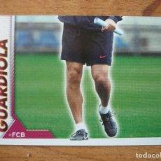 Cromos de Fútbol: CROMO ALBUM FC BARCELONA 2010 2011 PANINI 10 GUARDIOLA ENTRENADOR 2 - SIN PEGAR LIGA 10 11 BARÇA FCB. Lote 235278510