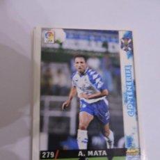 Cromos de Fútbol: 279 - ANTONIO MATA - C.D. TENERIFE - LIGA 1998 - 1999 98 99 - FICHAS DE LA LIGA MUNDICROMO SPORT. Lote 235278590