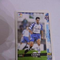 Cromos de Fútbol: 280 - CHANO - C.D. TENERIFE - LIGA 1998 - 1999 98 99 - FICHAS DE LA LIGA MUNDICROMO SPORT. Lote 235278765
