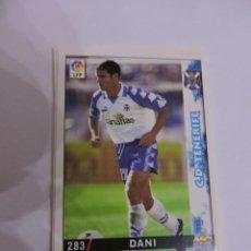 Cromos de Fútbol: 283 - DANI - C.D. TENERIFE - LIGA 1998 - 1999 98 99 - FICHAS DE LA LIGA MUNDICROMO SPORT. Lote 235279135