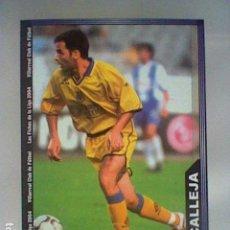 Cromos de Fútbol: CALLEJA 391 VILLARREAL FICHAS LIGA 2003 2004 03 04 MUNDICROMO MC ESCVDO ESTRECHO *. Lote 235567035
