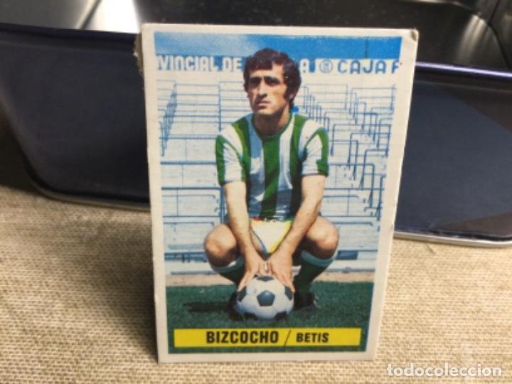LIGA 1974/ 75 ESTE - REAL BETIS - BIZCOCHO ( DESPEGADO ) (Coleccionismo Deportivo - Álbumes y Cromos de Deportes - Cromos de Fútbol)