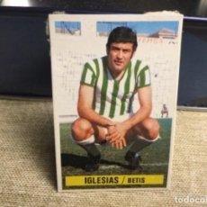 Cromos de Fútbol: LIGA 1974/ 75 ESTE - REAL BETIS - IGLESIAS ( DESPEGADO ). Lote 235851555