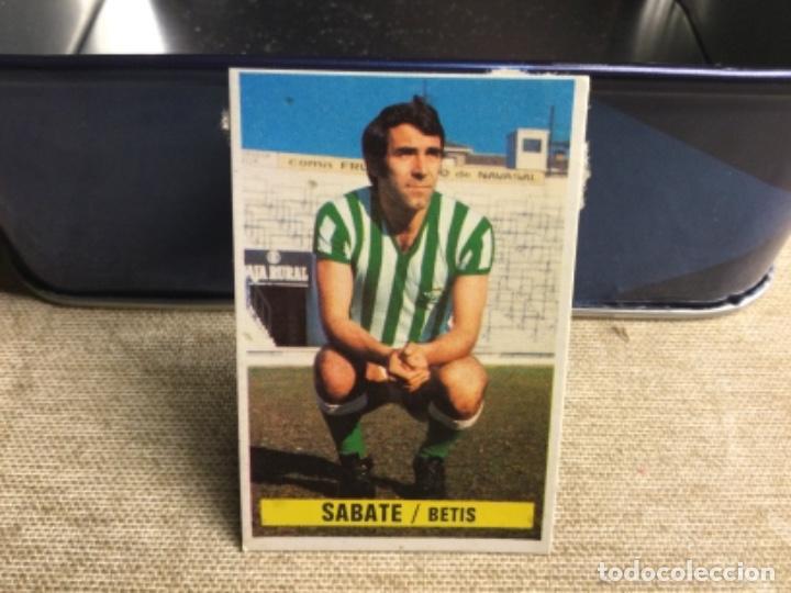 LIGA 1974/ 75 ESTE - REAL BETIS - SABATE ( DESPEGADO ) (Coleccionismo Deportivo - Álbumes y Cromos de Deportes - Cromos de Fútbol)