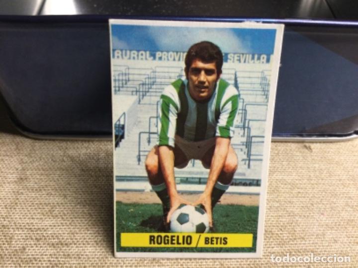 LIGA 1974/ 75 ESTE - REAL BETIS -ROGELIO ( DESPEGADO ) (Coleccionismo Deportivo - Álbumes y Cromos de Deportes - Cromos de Fútbol)