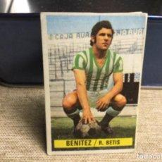 Cromos de Fútbol: LIGA 1974/ 75 ESTE - REAL BETIS - BENÍTEZ ( DESPEGADO ). Lote 235851900
