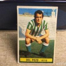 Cromos de Fútbol: LIGA 1974/ 75 ESTE - REAL BETIS - DEL POZO ( DESPEGADO ). Lote 235851940