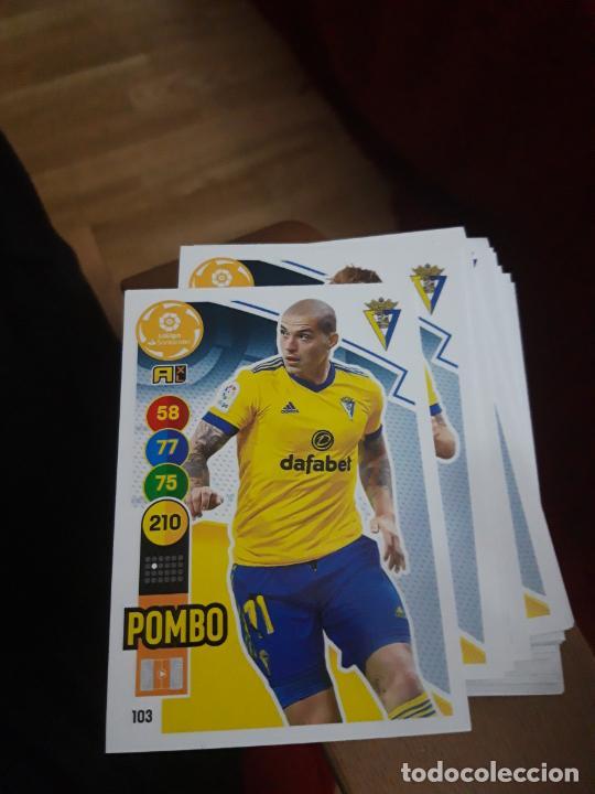 POMBO CÁDIZ 103 ADRENALYN 2020 2021 20 21 SIN PEGAR (Coleccionismo Deportivo - Álbumes y Cromos de Deportes - Cromos de Fútbol)