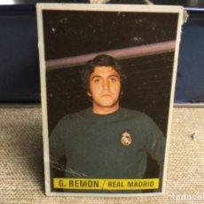 Cromos de Fútbol: LIGA 1974/ 75 ESTE - REAL MADRID C.F. - GARCIA REMON ( DESPEGADO ). Lote 235853070
