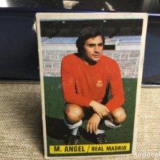 Cromos de Fútbol: LIGA 1974/ 75 ESTE - REAL MADRID C.F. - MIGUEL ÁNGEL ( DESPEGADO ). Lote 235853245