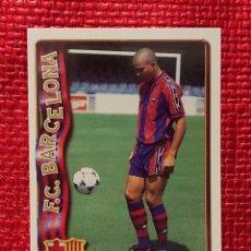 Cromos de Fútbol: MUNDICROMO FICHAS LIGA 96 97 Nº52 RONALDO (BARCELONA) 1996 1997. Lote 235853675