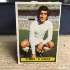 Cromos de Fútbol: LIGA 1974/ 75 ESTE - REAL MADRID C.F. - BENITO ( DESPEGADO ). Lote 235853705