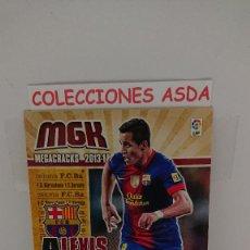 Cromos de Fútbol: MEGACRACKS 2013 2014 BARCELONA Nº 69 ALEXIS SANCHEZ MEGACRACKS 13 14. Lote 235854645