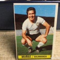 Cromos de Fútbol: LIGA 1974/ 75 ESTE - U.D. SALAMANCA - MUÑOZ ( DESPEGADO ). Lote 235854685
