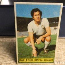 Cromos de Fútbol: LIGA 1974/ 75 ESTE - U.D. SALAMANCA - GALLEGUILLOS ( DESPEGADO ). Lote 235854725