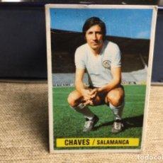 Cromos de Fútbol: LIGA 1974/ 75 ESTE - U.D. SALAMANCA - CHAVES ( DESPEGADO ). Lote 235854765
