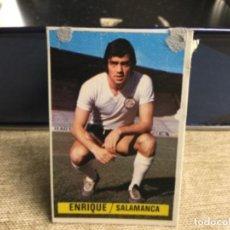 Cromos de Fútbol: LIGA 1974/ 75 ESTE - U.D. SALAMANCA - ENRIQUE ( DESPEGADO ). Lote 235854850