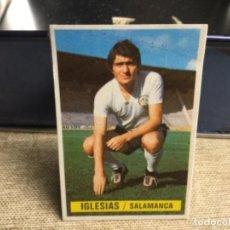 Cromos de Fútbol: LIGA 1974/ 75 ESTE - U.D. SALAMANCA - IGLESIAS ( DESPEGADO ). Lote 235854915