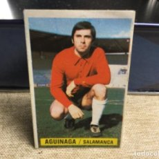 Cromos de Fútbol: LIGA 1974/ 75 ESTE - U.D. SALAMANCA - AGUINAGA ( DESPEGADO ). Lote 235854925