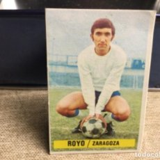 Cromos de Fútbol: LIGA 1974/ 75 ESTE - REAL ZARAGOZA - ROYO - ( DESPEGADO ). Lote 235855075