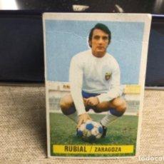 Cromos de Fútbol: LIGA 1974/ 75 ESTE - REAL ZARAGOZA - RUBIAL - ( DESPEGADO ). Lote 235855135