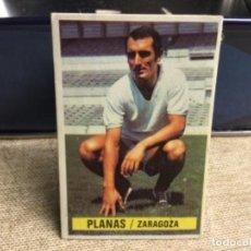 Cromos de Fútbol: LIGA 1974/ 75 ESTE - REAL ZARAGOZA - PLANAS - ( DESPEGADO ). Lote 235855275