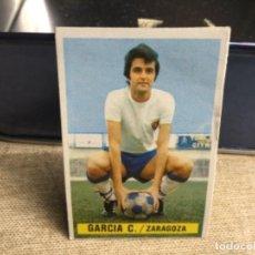 Cromos de Fútbol: LIGA 1974/ 75 ESTE - REAL ZARAGOZA - GARCIA CASTANY - ( DESPEGADO ). Lote 235855300