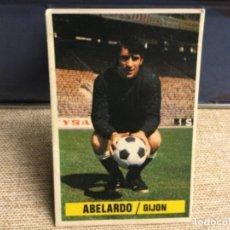 Cromos de Fútbol: LIGA 1974 / 75 ESTE - COLOCA - SPORTING DE GIJÓN - ABELARDO. Lote 235857910