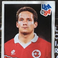 Cromos de Fútbol: CROMO Nº 40 HELVETIA PANINI MUNDIAL USA 1994 94 NUNCA PEGADO. Lote 235858135
